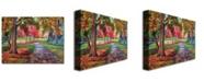 "Trademark Global David Lloyd Glover 'September Park' Canvas Art - 32"" x 24"""