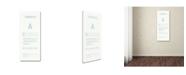 "Trademark Global Christian Jackson 'Carbonite Poster' Canvas Art - 32"" x 16"""