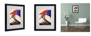 "Trademark Global Poster for Liberation of France' Matted Framed Art - 20"" x 16"""