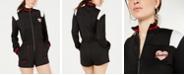 Juicy Couture Mock-Neck Contrast-Trim Romper
