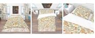 Design Art Designart 'Paisley Pattern' Vintage Duvet Cover Set - King