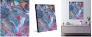 "Creative Gallery Potent Perfume Abstract Portrait Metal Wall Art Print - 16"" x 20"""