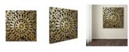 "Trademark Global Color Bakery 'Moroccan Gold III' Canvas Art - 24"" x 24"""