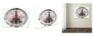"Trademark Global Color Bakery 'Paris in Frames 5' Canvas Art - 18"" x 24"""