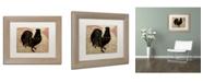 "Trademark Global Color Bakery 'Paris Farms IV' Matted Framed Art - 11"" x 14"""