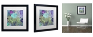 "Trademark Global Color Bakery 'Kismet' Matted Framed Art - 16"" x 16"""