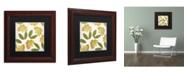 "Trademark Global Color Bakery 'English Garden I' Matted Framed Art - 11"" x 11"""