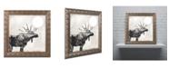 """Trademark Global Color Bakery 'Going Wild V' Ornate Framed Art - 16"""" x 16"""""""