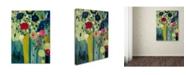 "Trademark Global Carrie Schmitt 'Surround Yourself With Beauty' Canvas Art - 35"" x 47"""