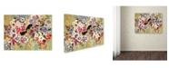 "Trademark Global Natasha Wescoat '004' Canvas Art - 35"" x 47"""