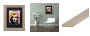 "Trademark Global Dean Russo 'Marilyn 1' Matted Framed Art - 11"" x 14"""