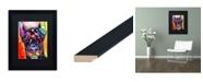 """Trademark Global Dean Russo 'Doberman' Matted Framed Art - 16"""" x 20"""""""