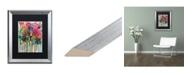 """Trademark Global Carrie Schmitt 'Flower Demo' Matted Framed Art - 16"""" x 20"""""""