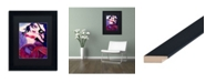 "Trademark Global Natasha Wescoat 'Dark Drifter' Matted Framed Art - 11"" x 14"""