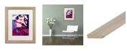 "Trademark Global Natasha Wescoat 'Dark Drifter' Matted Framed Art - 16"" x 20"""