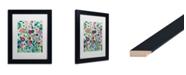 """Trademark Global Carrie Schmitt 'Sattva' Matted Framed Art - 11"""" x 14"""""""