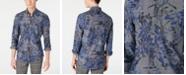 Paisley & Gray Men's Slim-Fit Royal Floral Shirt