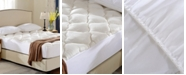 Cheer Collection Rayon from Bamboo Fitted Down Alternative King Mattress Pad