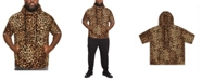 Mvp Collections By Mo Vaughn Productions MVP Collections Men's Big and Tall Animal Print Short Sleeve Hoodie