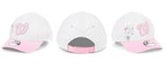New Era Toddlers & Little Girls Washington Nationals Minnie Heart 9FORTY Adjustable Cap