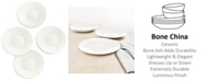 Hotel Collection Bone China Set/4 Appetizer Plates, Created for Macy's