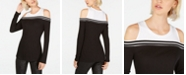 INC International Concepts INC Petite Cold-Shoulder Colorblocked Top, Created For Macy's