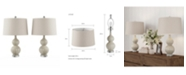 Lavish Home Table Lamps - Set of 2