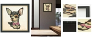 Empire Art Direct 'Chihuahua Close-up' Dimensional Collage Wall Art - 17'' x 17''