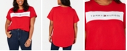 Tommy Hilfiger Plus Size Logo-Graphic T-Shirt, Created for Macy's