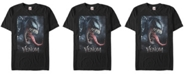 Marvel Men's Venom Action Poster Short Sleeve T-Shirt