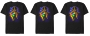 Marvel Men's Comic Collection Starry Thanos Fist Short Sleeve T-Shirt