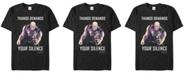 Marvel Men's Avengers Infinity War Thanos Demands Silence Short Sleeve T-Shirt
