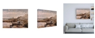 "Trademark Global Winslow Homer Boys in a Dory Canvas Art - 15.5"" x 21"""