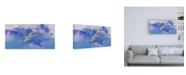 "Trademark Global Paul Signac Pont des arts, Inondation Canvas Art - 27"" x 33.5"""