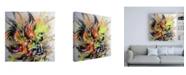 """Trademark Global Taka Sudo Golden Fish Canvas Art - 15.5"""" x 21"""""""
