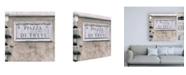"Trademark Global Philippe Hugonnard Dolce Vita Rome 3 Piazza Di Trevi Canvas Art - 15.5"" x 21"""