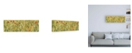 "Trademark Global Philippe Hugonnard France Provence 2 Wheat Field Canvas Art - 36.5"" x 48"""