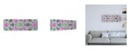 "Trademark Global Philippe Hugonnard Made in Spain 2 Oriental Mosaic IV Canvas Art - 27"" x 33.5"""