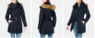 Tommy Hilfiger Faux-Fur-Trim Hooded Puffer Coat, Created For Macy's
