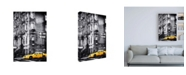 "Trademark Global Philippe Hugonnard Yellow Taxi Canvas Art - 19.5"" x 26"""