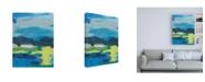 "Trademark Global Regina Moore Stitched Sky II Canvas Art - 19.5"" x 26"""