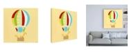 "Trademark Global June Erica Vess Up, Up and Away II Childrens Art Canvas Art - 19.5"" x 26"""