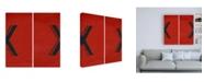 "Trademark Global Chariklia Zarris Luciens X 6 Up Canvas Art - 19.5"" x 26"""