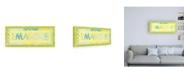 "Trademark Global Megan Meagher Imagine Phrase Canvas Art - 27"" x 33.5"""