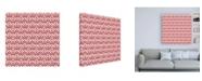 """Trademark Global Pela Studio Bazaar Patchwork Pattern VA Canvas Art - 15.5"""" x 21"""""""
