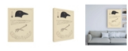 "Trademark Global Wild Apple Portfolio Bird Prints I Canvas Art - 15.5"" x 21"""