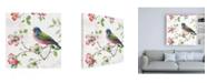 "Trademark Global Lisa Audit Dogwood Garden III Canvas Art - 15.5"" x 21"""