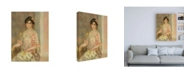 "Trademark Global Pierre Auguste Renoir Portrait of Madame Josse Bernheim Dauberville Canvas Art - 27"" x 33.5"""
