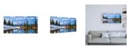 "Trademark Global Michael Broo Mt. Rainier Vista Canvas Art - 19.5"" x 26"""