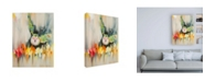 "Trademark Global Stephanie Aguila Meadow Blurred Canvas Art - 36.5"" x 48"""